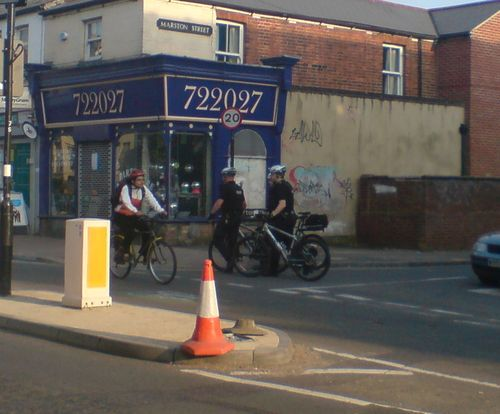 Policing in Cowley Rd 4