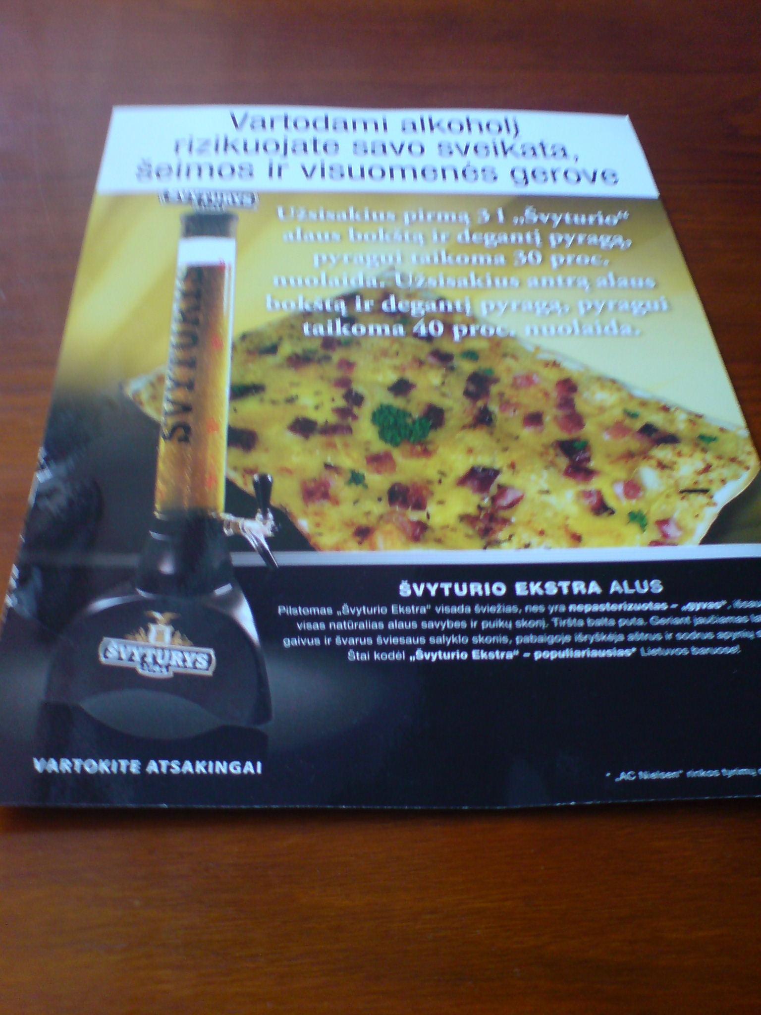 Beer advert 1