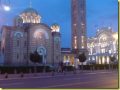 Orthodox church and tower
